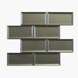 3×6 Bevel Metallic Bronze