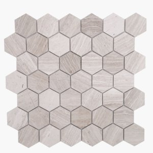 2″ Hexagon Woodlight