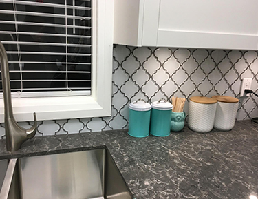 P 4- kitchen backsplash