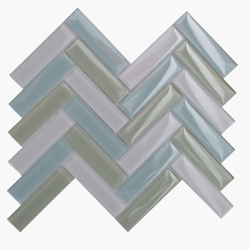 1×4 Herringbone Morning Sky