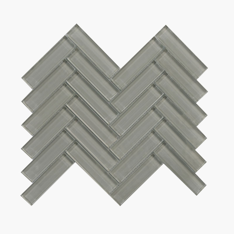 1×4 Herringbone Cool Grey