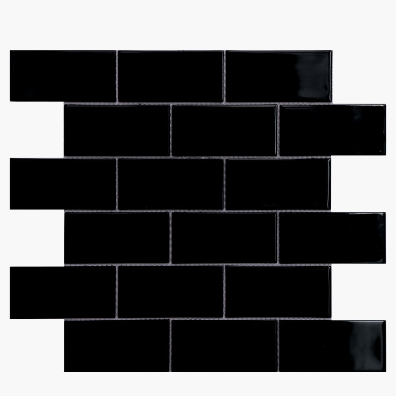 2×4 Brick Nu Black (4mm)