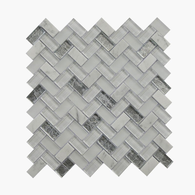 Large Herringbone Silver Lake