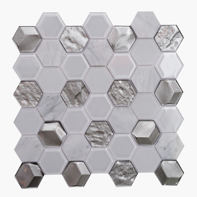 2″ Hexagon London Fog